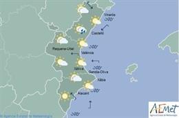 Predicción meteorológica del domingo 14 de julio