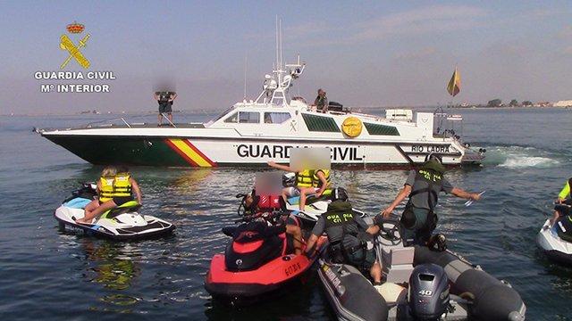 Guardia Civil pone en marcha campaña de control de embarcaciones deportivas