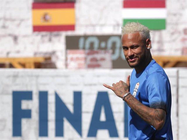 El internacional brasileño Neymar