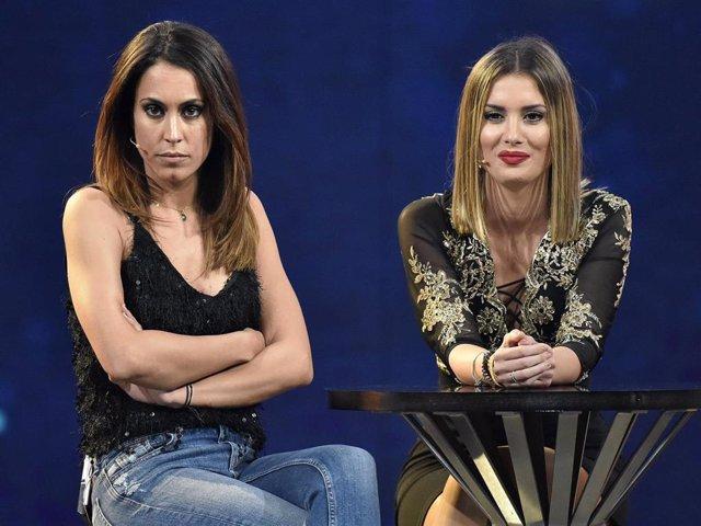 Raquel Lozano y Candela en el plató de 'Gran Hermano Dúo'