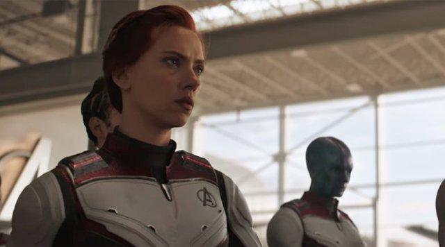 Scarlett Johansson es Viuda Negra en Vengadores: Endgame