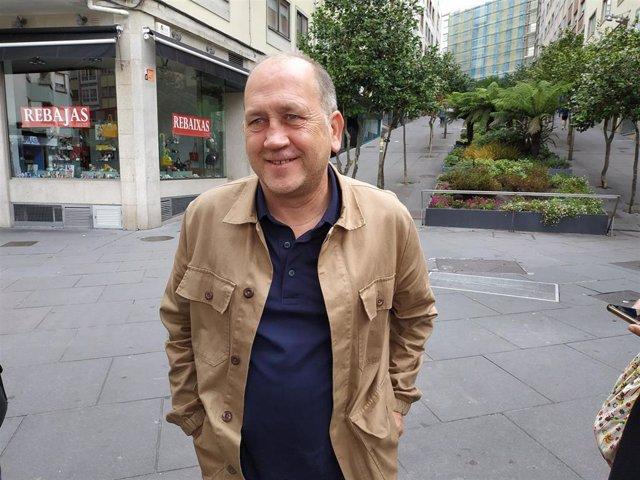 El portavoz parlamentario del PSdeG, Xoaquín Fernández Leiceaga.