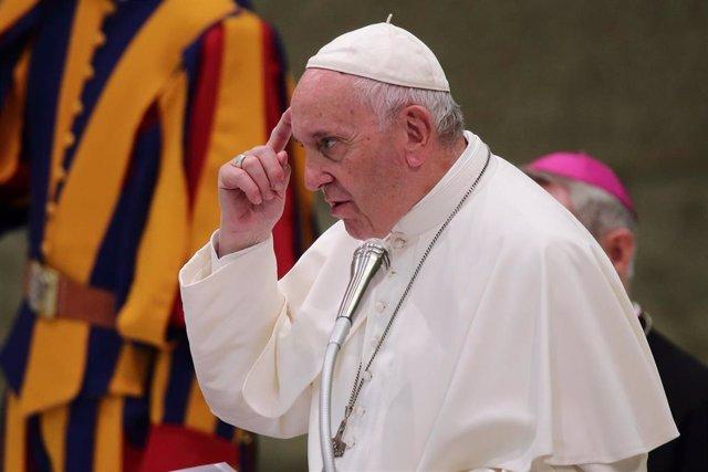 El Papa Francsico en una imagen de archivo