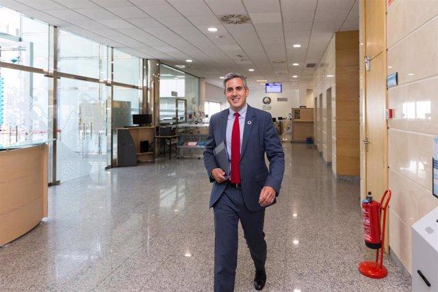Pablo Zuloaga, vicepresidente de Cantabria, portavoz del Gobierno y consejero de Universidades, Igualdad, Cultura y Deporte