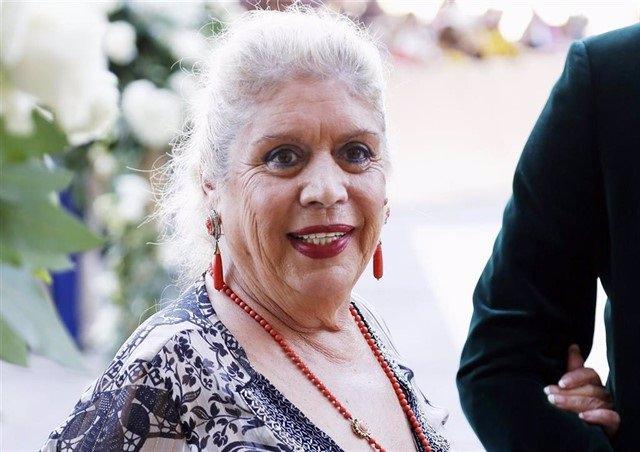 La artista y cantante María Jiménez