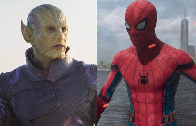 Skrulls y Spider-Man