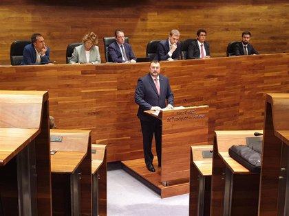 El socialista Adrián Barbón será elegido este lunes noveno presidente de Asturias