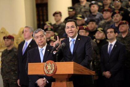 Morales aplaza su reunión con Trump y dice que Guatemala no será refugio para migrantes expulsados de EEUU