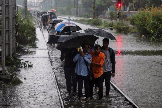 Lluvias monzónicas en India