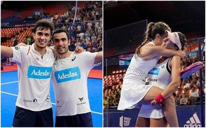 Debut con triunfo de Lima y Galán y título para 'las Martas' en el Estrella Damm Valencia Open
