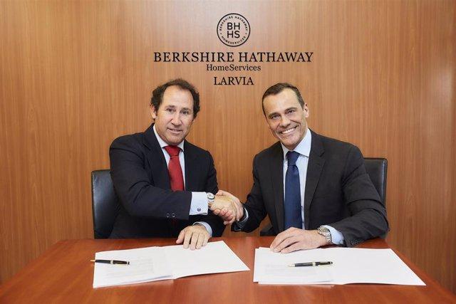 Acuerdo entre Larvia y Berkshire Hathaway HomeServices