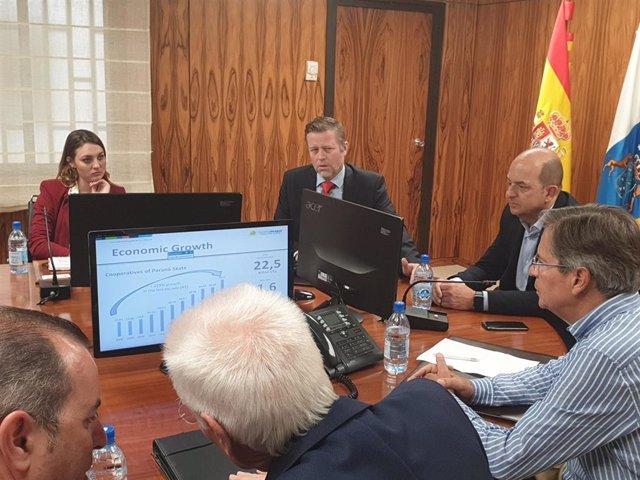 Reunión de la Autoridad Portuaria de Las Palmas con empresarios de Brasil