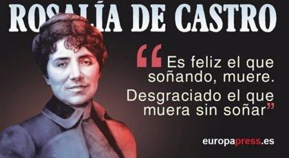 Rosalía de Castro: 10 citas imprescindibles de la poetisa gallega
