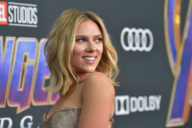 Scarlett Johansson en la premiere mundial de 'Vengadores: Endgame'