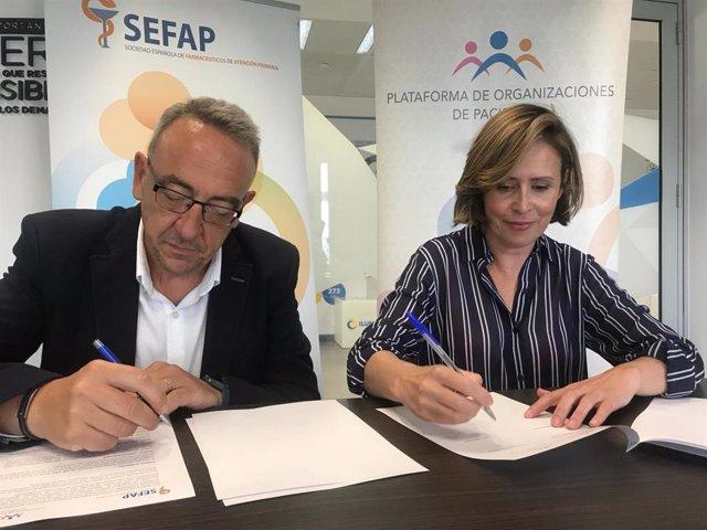 La POP y SEFAP firman un convenio de colaboración