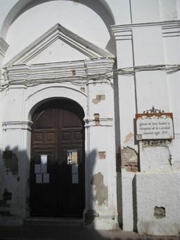 La Junta adjudica la rehabilitación del hospital de la Caridad y la iglesia de San Andrés de Coín (Málaga)