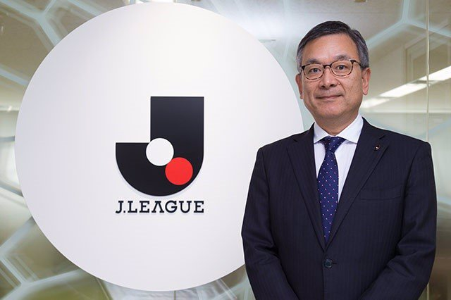 El presidente de la J-League japonesa, Mitsuru Murai