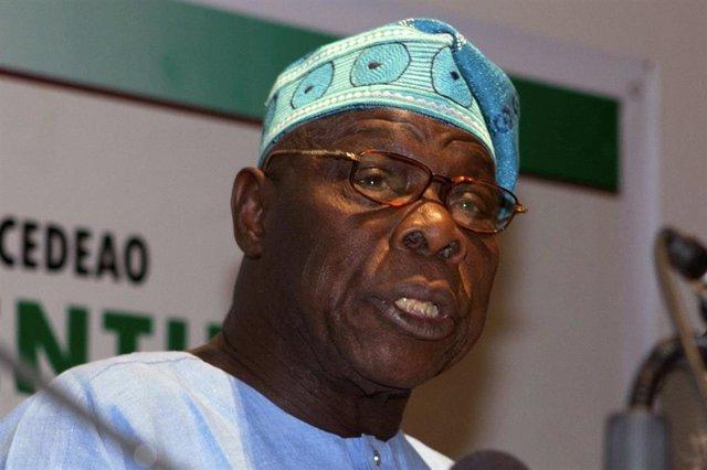 El expresidente de Nigeria Olusegun Obasanjo