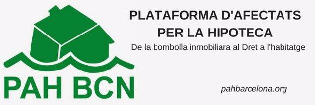 PAH Barcelona considera insuficient el pla d'habitatge del nou Ajuntament de Barcelona