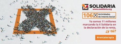 Campaña 'X solidaria'