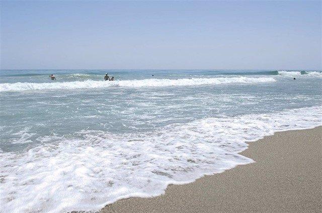 Una platja de Málaga