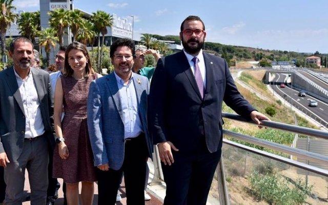 Nova connexió a l'enllaç de la C-32 de Mataró Oest (Barcelona)