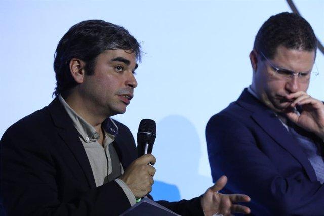 El concejal de Más Madrid Jorge García Castaño.