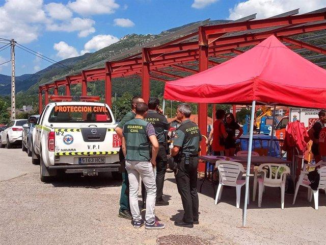 Operativo de búsqueda de tres espeleólogas en la cueva de Coventosa