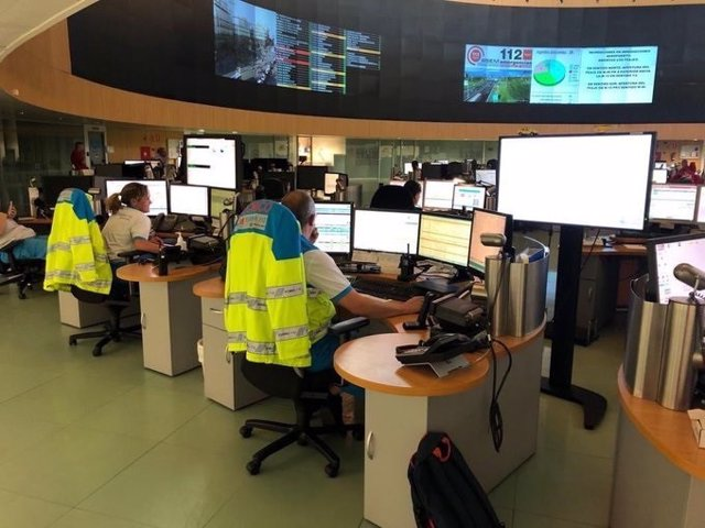 Centro de Llamada sde las emergencias del Summa 112