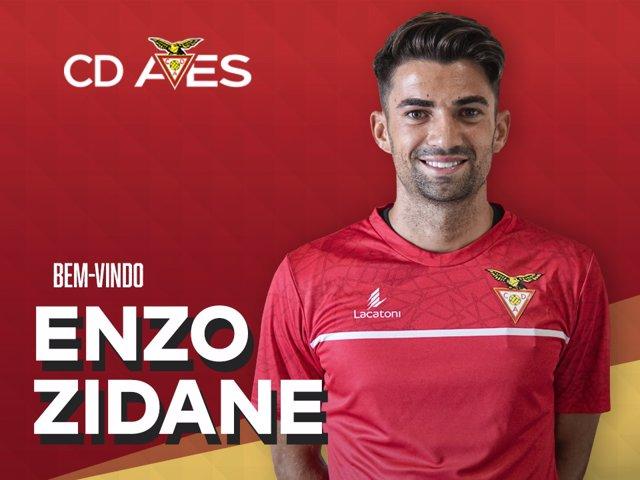 Enzo Zidane, nuevo jugador del CD Aves portugués