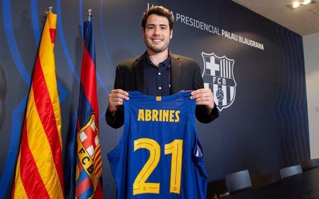 El nuevo jugador del Barça Àlex Abrines