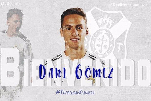 El delantero del Castilla Dani Gómez, cedido al CD Tenerife