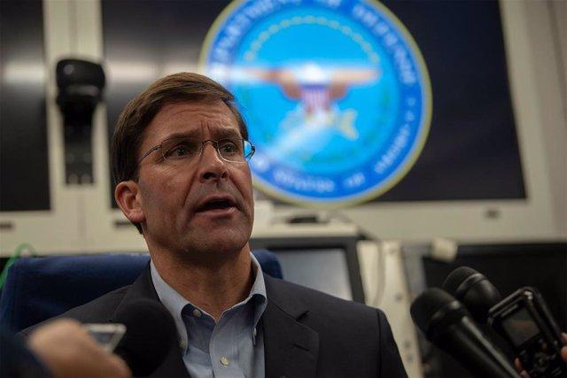 El secretario de Defensa en funciones, Mark T. Esper