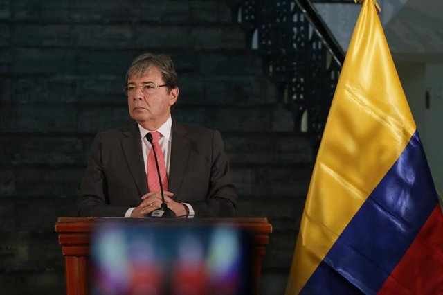 El ministro de Asuntos Exteriores de Colombia, Carlos Holmes Trujillo