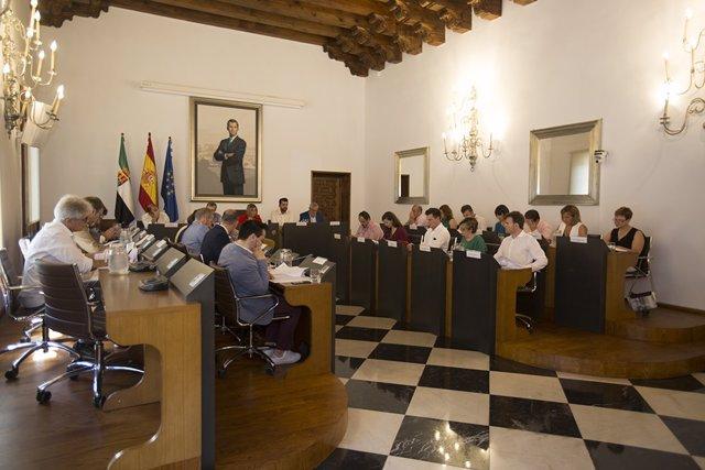 La Diputación de Cáceres celebra pleno