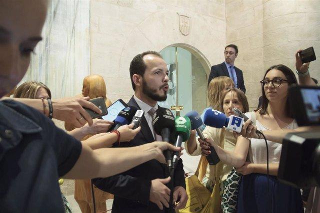 Segunda sesión del pleno de investidura para la Presidencia del Gobierno de La Rioja