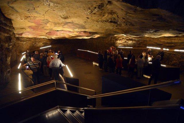 Imagen de la 'Neocueva' del Museo de Altamira