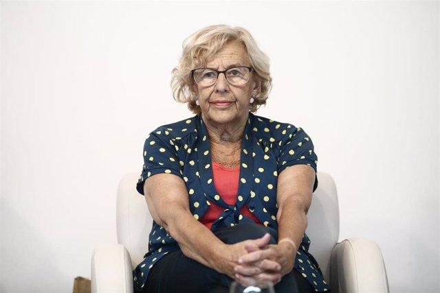 La exalcaldesa de Madrid, Manuela Carmena.