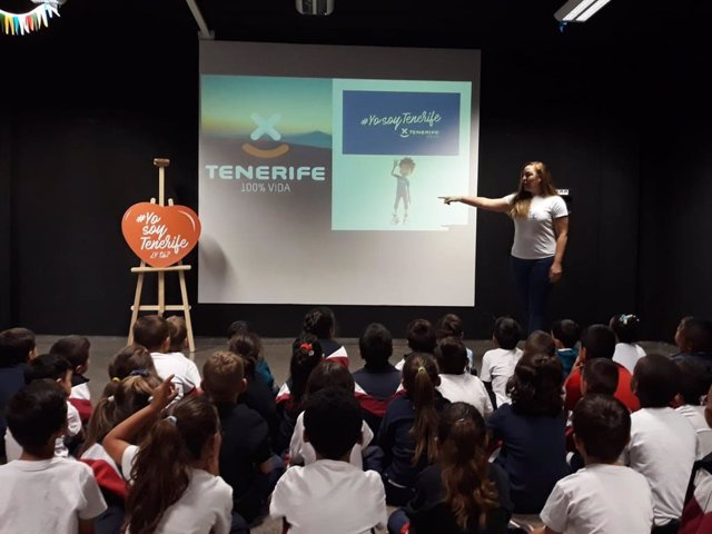 La campaña de sensibilización #YosoyTenerife forma este curso a 1.600 alumnos de Infantil y Primaria