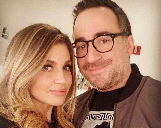 Daniele Fishel y su marido Jensen Karp en una foto subida a Instagram por la actriz