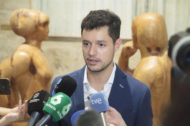 Raúl Díaz, portavoz del Grupo Parlamentario Socialista de La Rioja