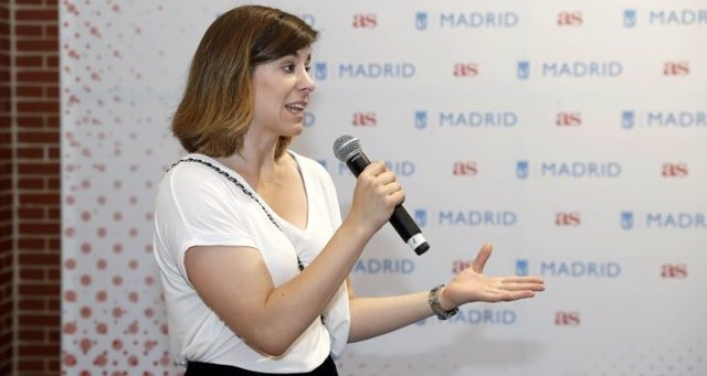 La concejala delegada de Deportes del Ayuntamiento de Madrid, Sofía Miranda (Cs)