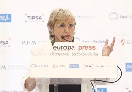 """La consejera de sanidad valenciana afirma que la """"financiación cronificada"""" les impide avanzar en inversión sanitaria"""