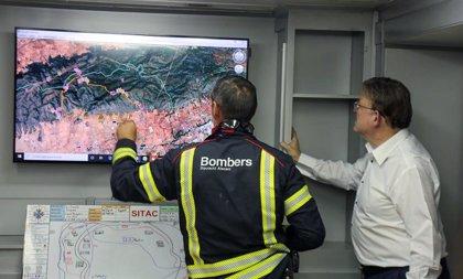 Estabilizado el incendio de Beneixama, que ha afectado entre 850 y 900 hectáreas