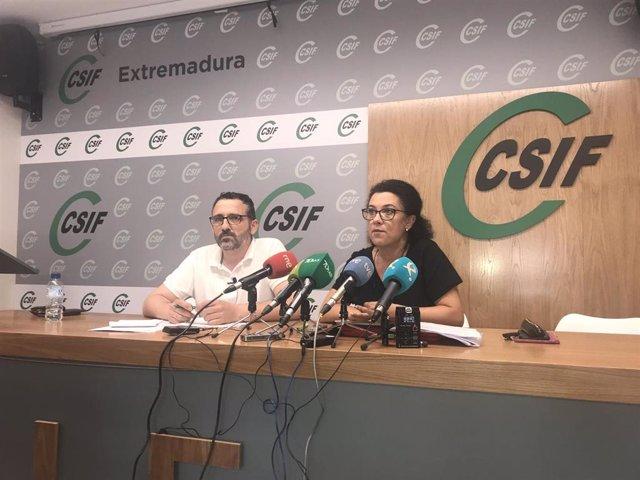 Rueda de prensa de CSIF sobre las actas de infracción a Ambulancias Tenorio