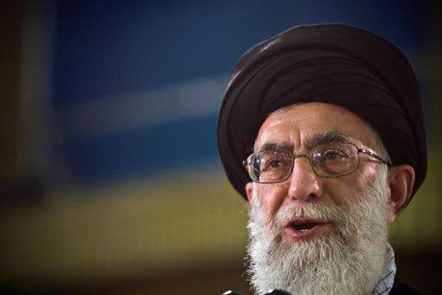 Foto de archivo del ayatolá Ali Jamenei.