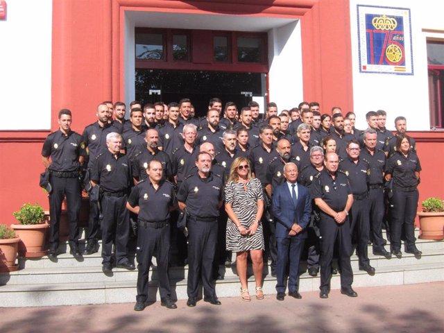 Nuevos policías en Extremadura