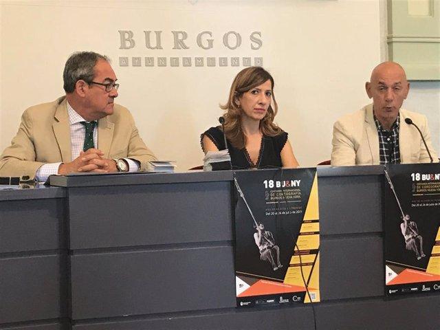 Presentación del Certamen internacional Danza Burgos