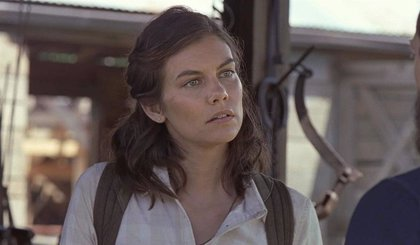 The Walking Dead ya trabaja en el regreso de Lauren Cohan