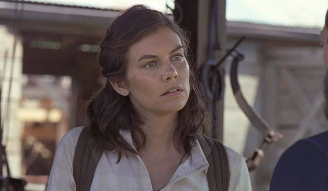 Imagen de Lauren Cohan como Maggie en The Walking Dead
